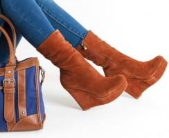 Zapatos de cuña cómodos